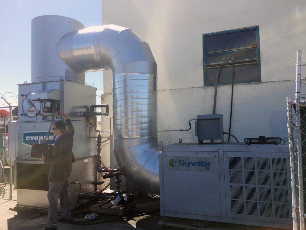 VaporVeil Pilot Plant, Water Vapor Capture